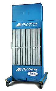 PowerBooth Cartridge Filter Wall